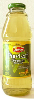 lipton pure leaf green tea